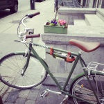 Cute bike+wine holder=perfection!